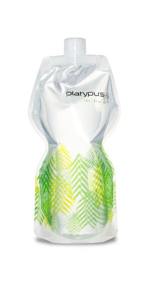 Platypus SoftBottle bidon closure cap 1l groen